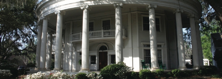 The Crescent, one of Valdosta's historic structures.
