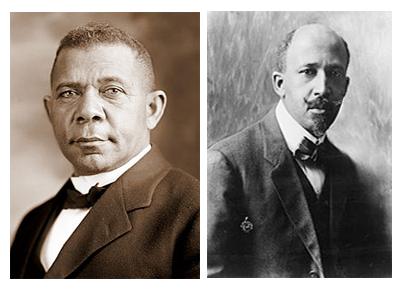 african american history conflict among black leaders  booker t washington and w e b dubois