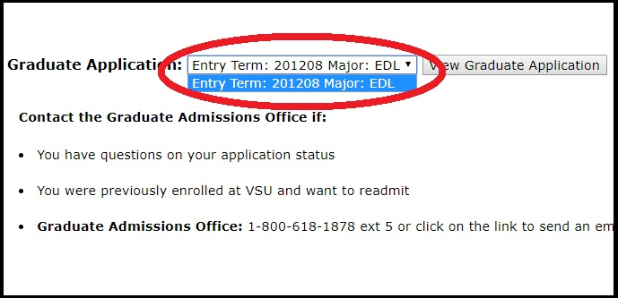 Check Your Application Status >> Application Status Check Valdosta State University