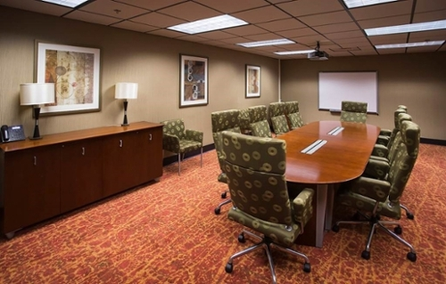Live Oak Conference Room With A Stationary Table And 10 Chairs