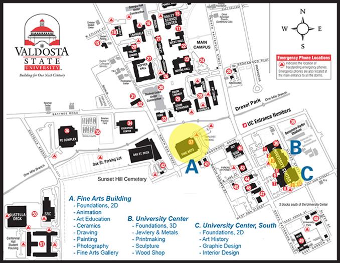Facilities And Areas Of Study Valdosta State University