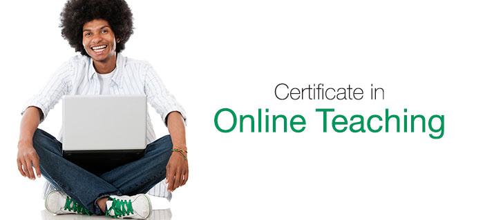Programa de Certificado de Enseñanza en línea - Cursos