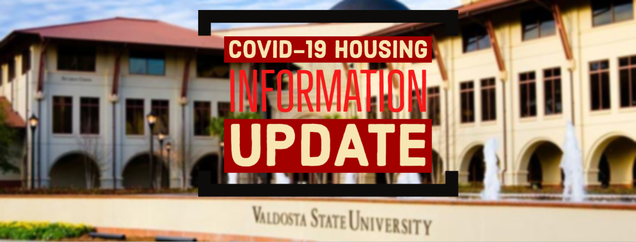 COVID-19 Housing Move-Out Information