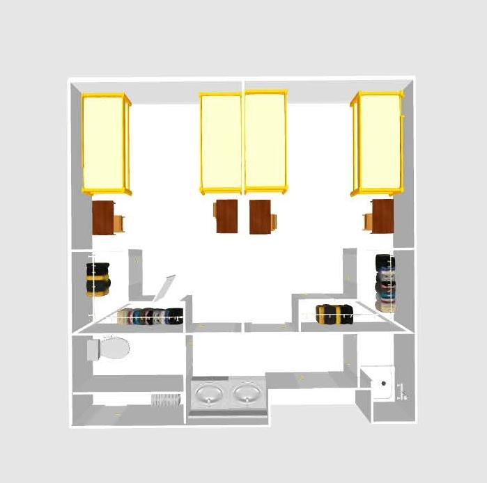 Georgia hall floor plan valdosta state university for Floor plans brown university
