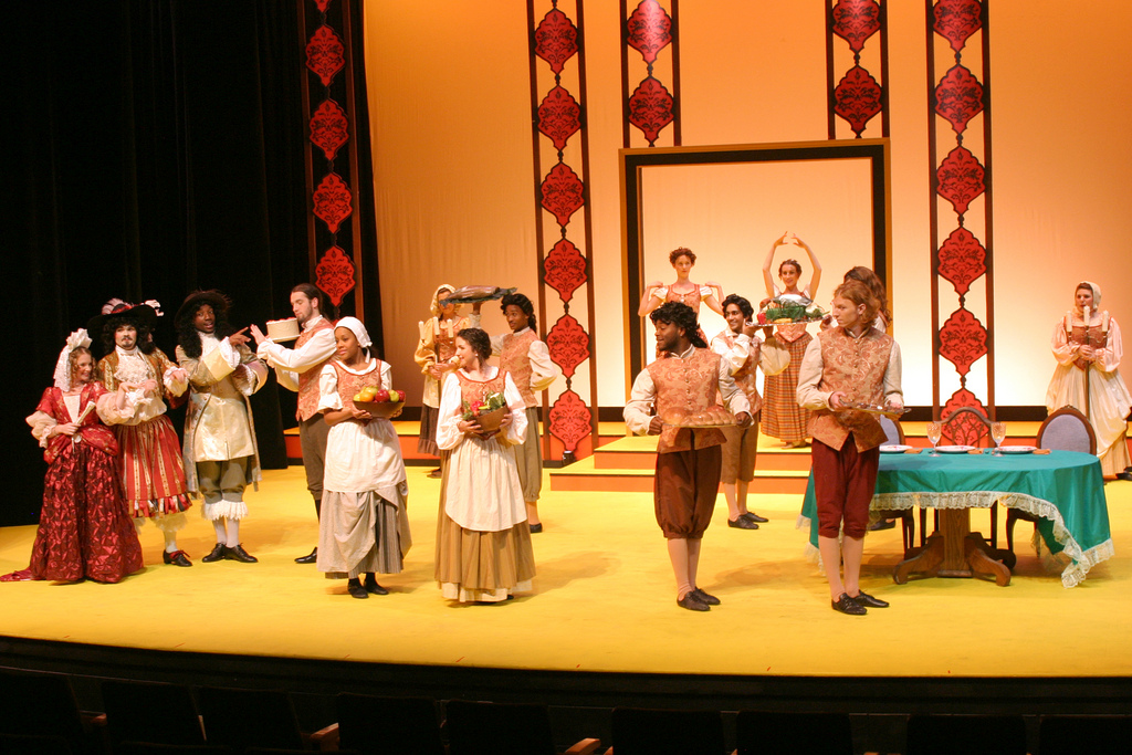 VSU performance of Moliere's  The Would-Be Gentleman.\