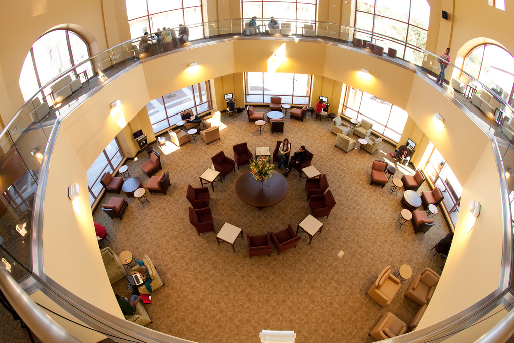 Photo of Student Union Rotunda